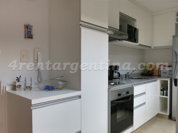 Cabrera and Laprida II: Furnished apartment in Palermo