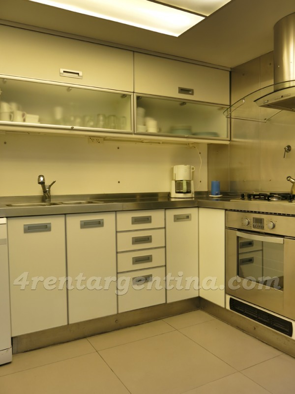 Pe�a and Barrientos: Furnished apartment in Recoleta