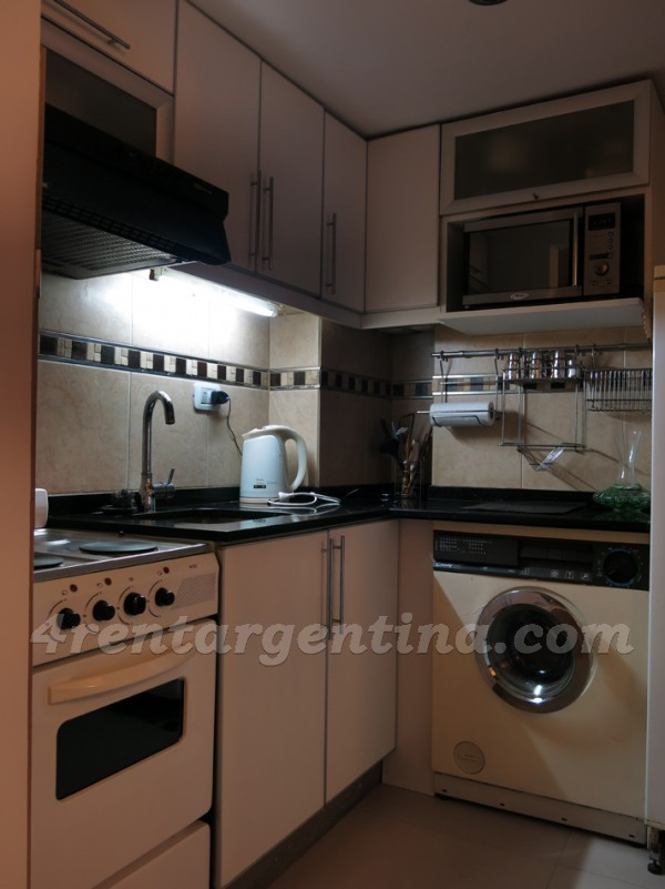 Ecuador et Corrientes: Furnished apartment in Abasto