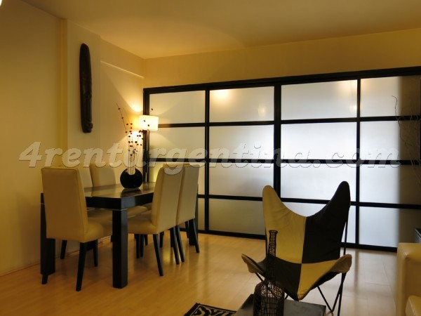 Ecuador and Corrientes: Furnished apartment in Abasto