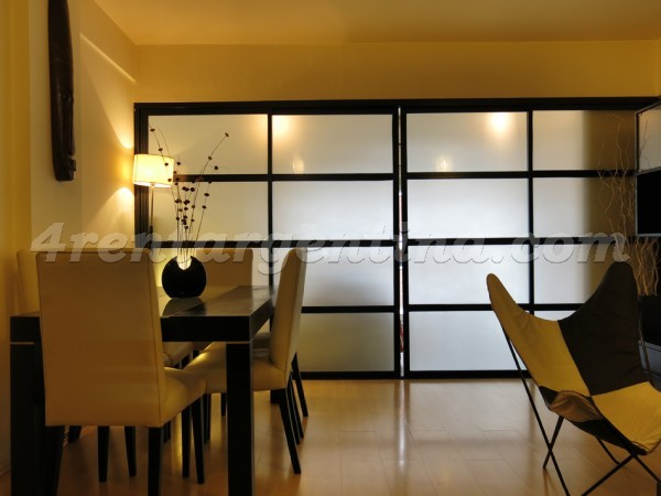 Ecuador and Corrientes, apartment fully equipped