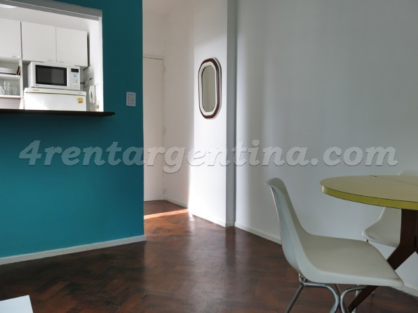 Honduras and Scalabrini Ortiz, apartment fully equipped