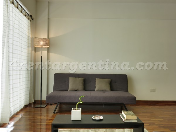 Apartment Juncal and Julian Alvarez - 4rentargentina