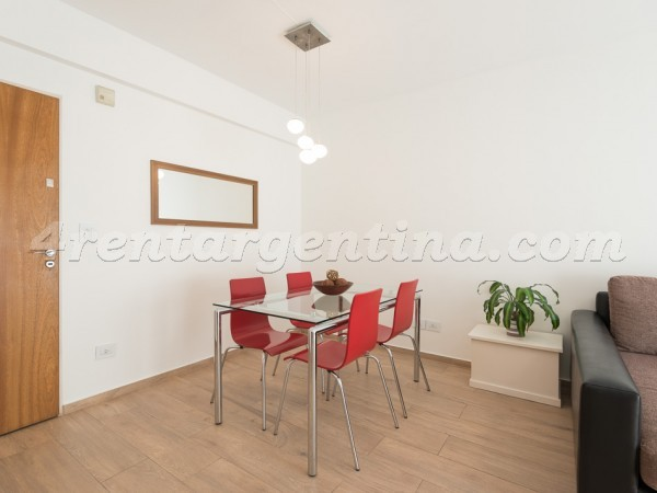 Soler and Scalabrini Ortiz, apartment fully equipped