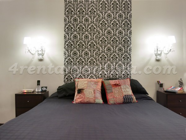 H. Yrigoyen and Piedras II: Furnished apartment in Downtown