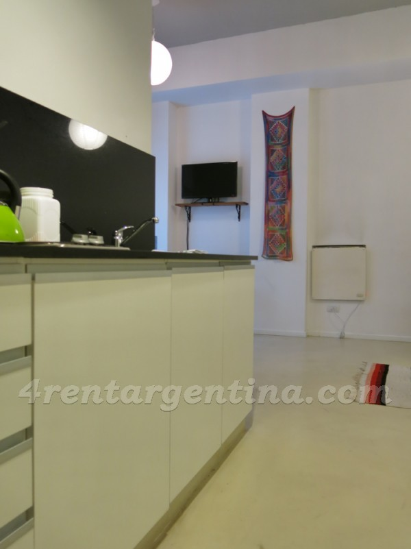 Cabrera and Palestina, apartment fully equipped