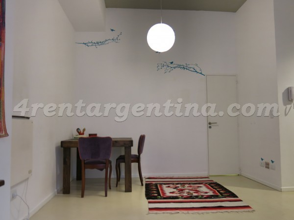 Cabrera and Palestina: Apartment for rent in Palermo