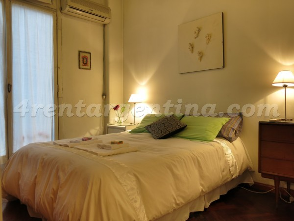 Libertador and Maipu, apartment fully equipped