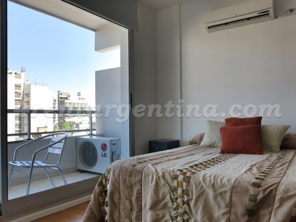 Nicaragua and Dorrego, apartment fully equipped