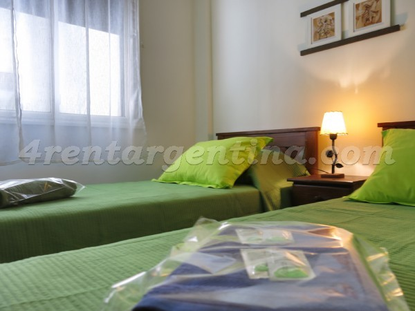 Bulnes and Arenales: Furnished apartment in Palermo