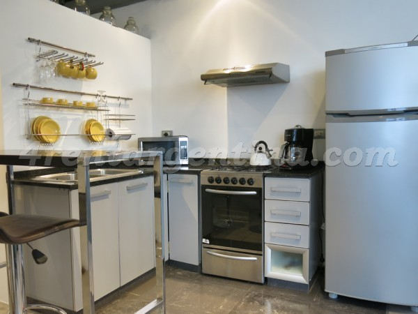 Peru and Chile III: Furnished apartment in San Telmo