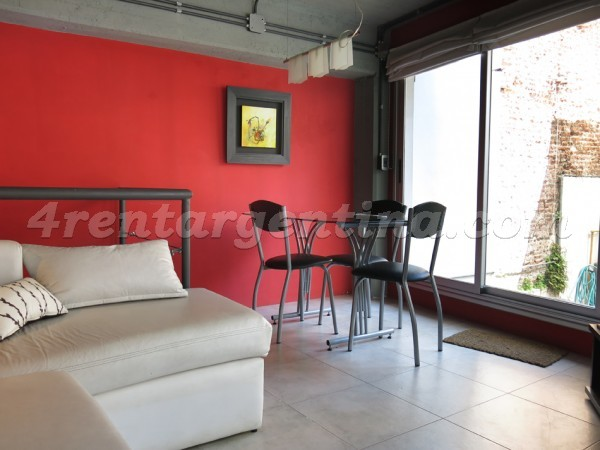 Peru and Chile III: Apartment for rent in San Telmo
