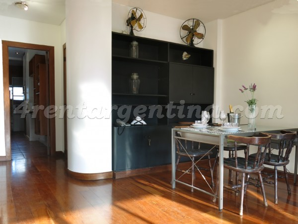 Apartment Rep. Arabe Siria and Santa Fe - 4rentargentina