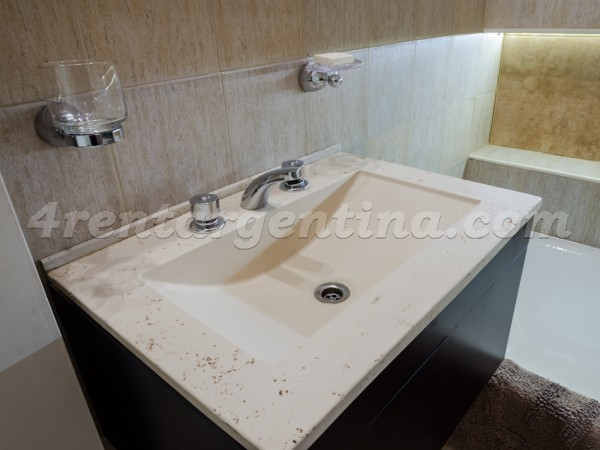 Armenia and Charcas III, apartment fully equipped