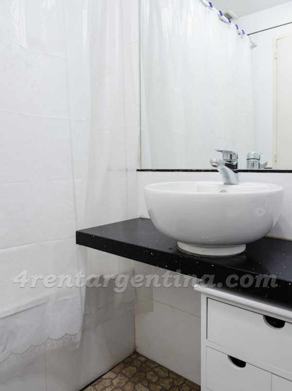 Riobamba and Corrientes VI, apartment fully equipped