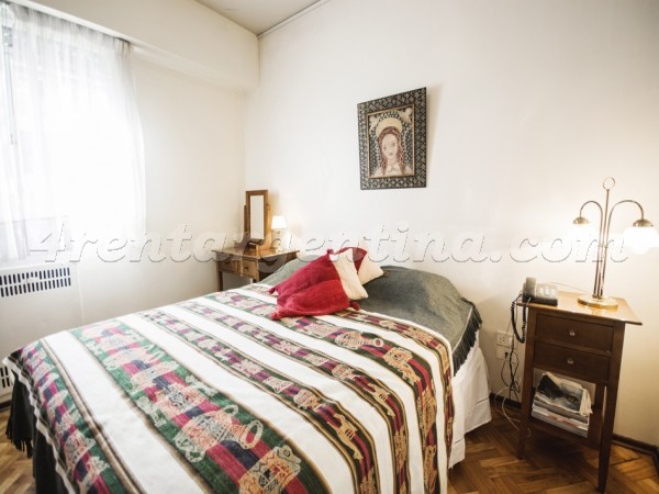 Apartment Pacheco de Melo and Junin - 4rentargentina