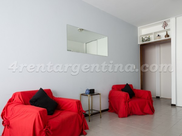 Sarmiento et Cerrito II: Apartment for rent in Buenos Aires