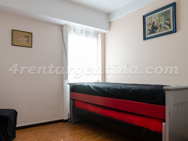 Sarmiento et Cerrito II, apartment fully equipped