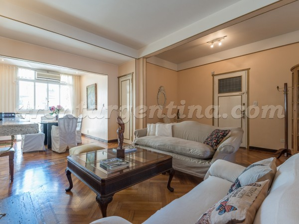 Santa Fe and Julian Alvarez: Apartment for rent in Palermo