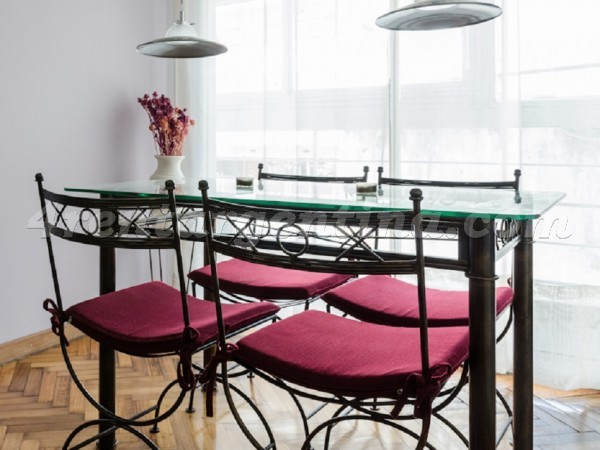 Tagle and Las Heras: Apartment for rent in Recoleta