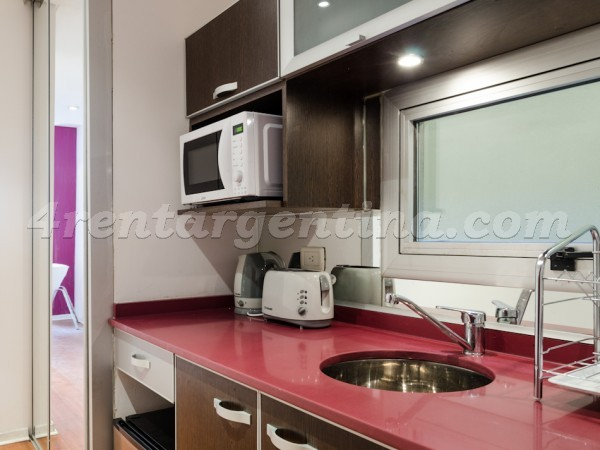 Rodriguez Pe�a et Sarmiento VI: Apartment for rent in Buenos Aires