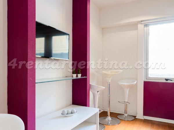 Rodriguez Pe�a et Sarmiento VI: Furnished apartment in Downtown