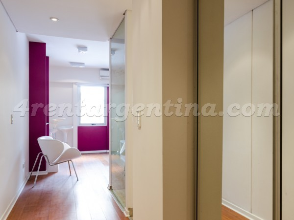 Rodriguez Pe�a and Sarmiento VII: Furnished apartment in Downtown