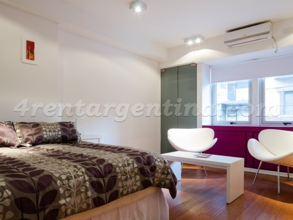 Rodriguez Pe�a and Sarmiento X: Furnished apartment in Downtown