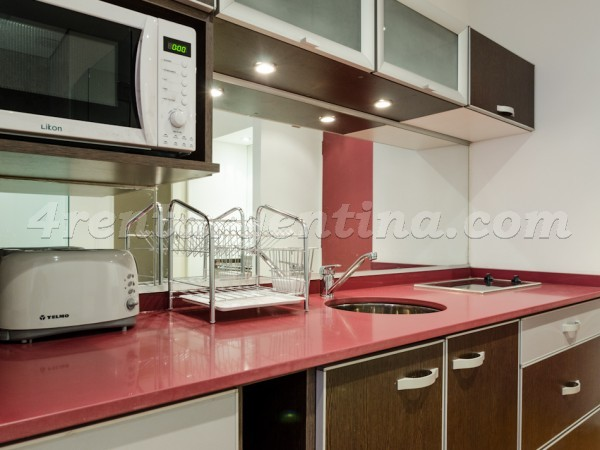 Rodriguez Pe�a and Sarmiento X: Apartment for rent in Downtown