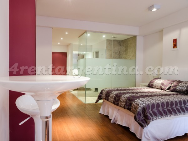 Rodriguez Pe�a and Sarmiento XI: Apartment for rent in Buenos Aires