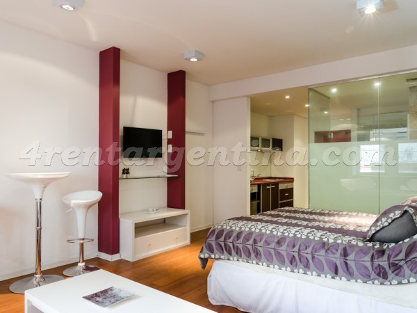 Rodriguez Pe�a and Sarmiento XI, apartment fully equipped