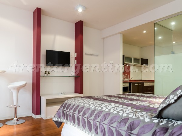 Rodriguez Pe�a and Sarmiento XII: Apartment for rent in Downtown