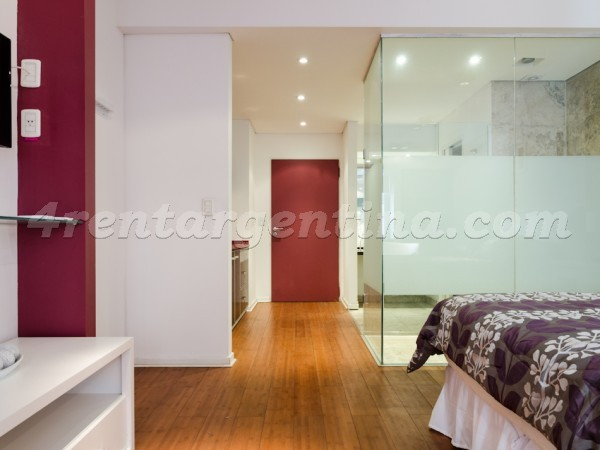 Rodriguez Pe�a and Sarmiento XII, apartment fully equipped
