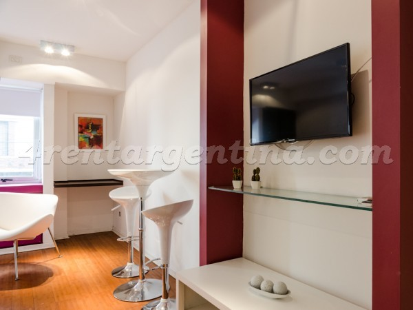 Rodriguez Pe�a and Sarmiento XII: Furnished apartment in Downtown