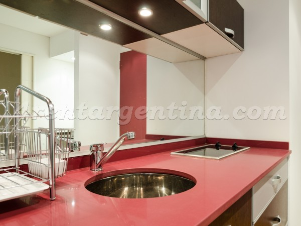 Rodriguez Pe�a and Sarmiento XV, apartment fully equipped