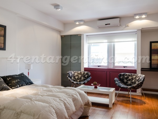 Rodriguez Pe�a and Sarmiento XV: Apartment for rent in Buenos Aires
