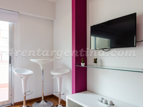 Rodriguez Pe�a and Sarmiento XVI: Furnished apartment in Downtown