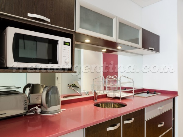 Rodriguez Pe�a and Sarmiento XVI: Apartment for rent in Downtown