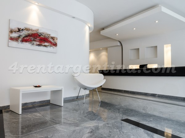 Rodriguez Pe�a et Sarmiento XVI: Furnished apartment in Downtown