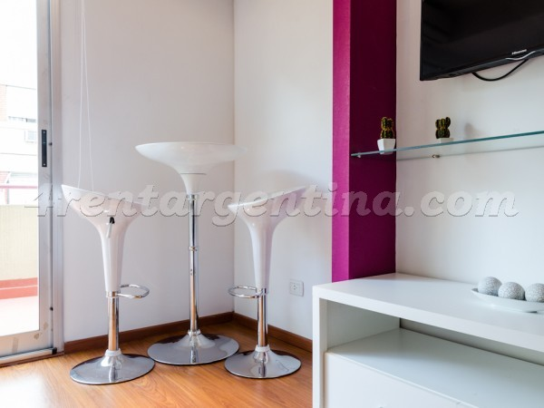 Rodriguez Pe�a and Sarmiento XVI, apartment fully equipped