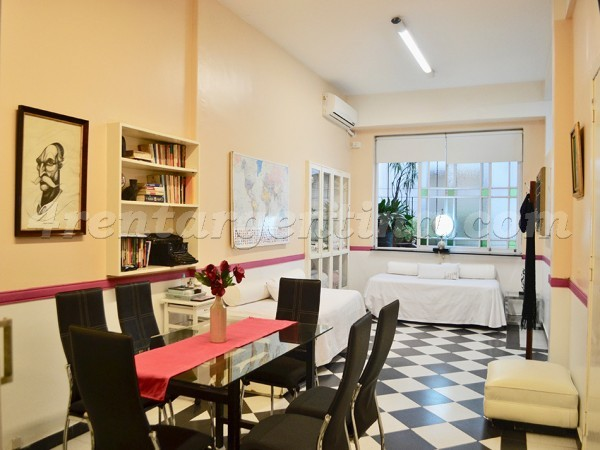 Peron et Uruguay, apartment fully equipped