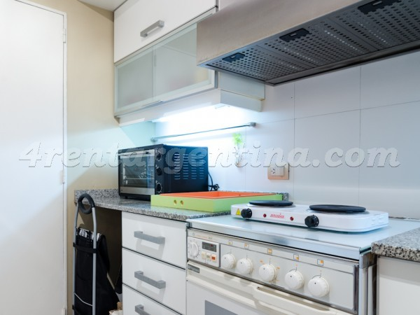 Pacheco de Melo et Laprida I, apartment fully equipped