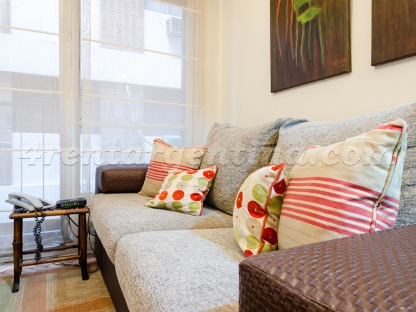 Pacheco de Melo and Laprida I: Apartment for rent in Recoleta
