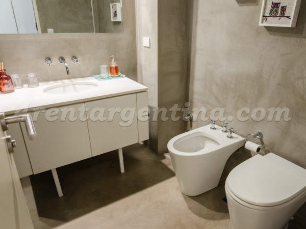 Bulnes and Las Heras IV: Apartment for rent in Palermo