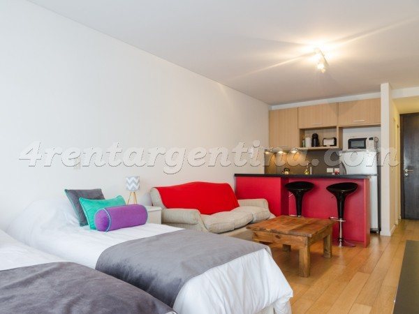 Bulnes and Las Heras IV: Furnished apartment in Palermo