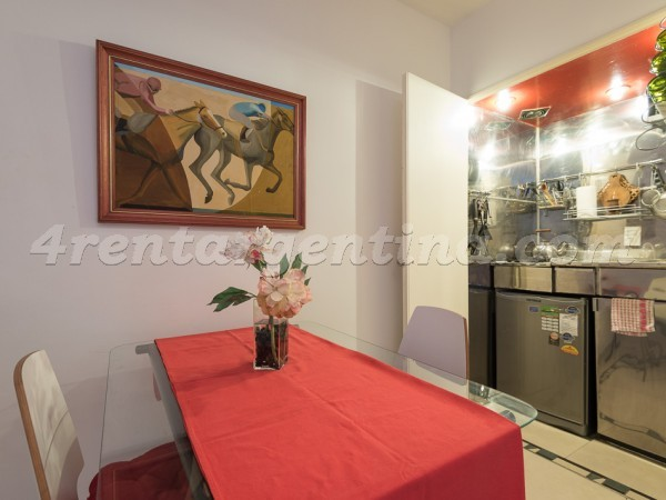 Uruguay and Sarmiento: Apartment for rent in Buenos Aires