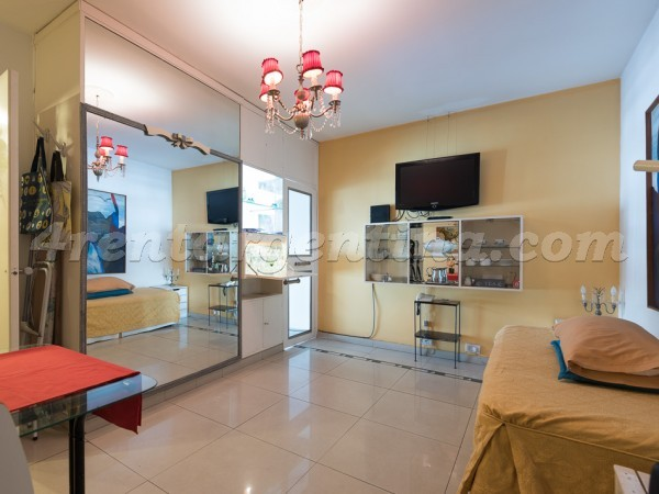 Uruguay et Sarmiento: Furnished apartment in Downtown