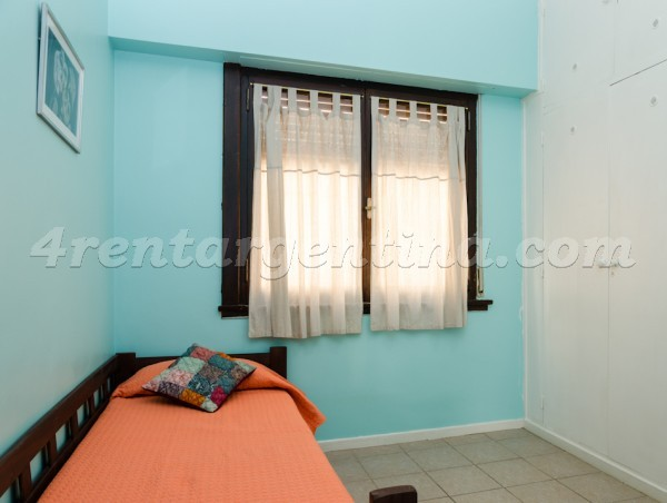Gurruchaga and Honduras, apartment fully equipped