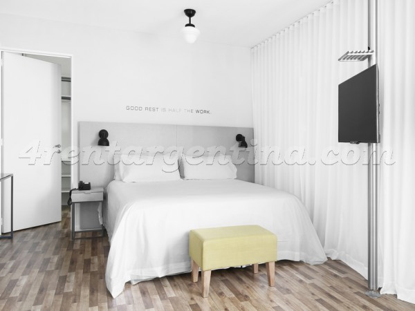 Azopardo and Independencia V: Furnished apartment in San Telmo