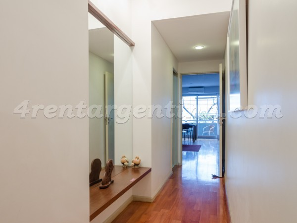 Bulnes and Santa Fe IV, apartment fully equipped